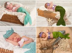 Newborn Mermaid Photos