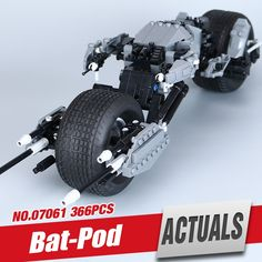 (28.90$)  Buy here  - Lepin 07061 358Pcs Super Hero Series The Batman Motorcycle Set 5004590 Educational Building Blocks Bricks Toys Model Gift 7115