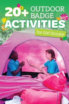 If you're looking for a way to add some literal fresh air to your troop meetings this Spring, here are 20+ badge activities that will help your Girl Scout troop earn their outdoor badges!