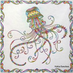 Coloringbook Lostocean Johannabasford Livrodecolorir Oceanoperdido Coloring