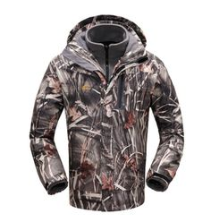 This beautiful Realtree camoulfage parka is an amazing, high-performance coat. Made of windproof and waterproof fabric, the Major coat is water and wear-resistant and suitable for cold and damp temperatures (around 10F-32F days). With high-grade thermal fleece, seamless waterproof pockets, and waterproof two-way zippers, you will love heading out into the bush during the chill of an early winter morning. A double-flap windproof system, underarm ventilation, elastic cuffs, and adjustable hood…