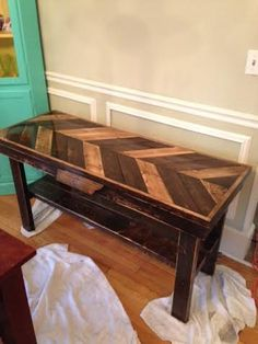 Handmade Pallet Tables by TimnRachtables on Etsy, $200.00