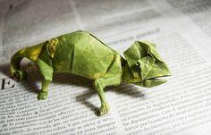 İspanyol Sanatçının Origami İle Yarattığı Gerçekçi Figürler * Bigumigu