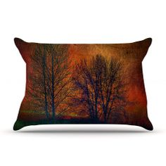 "Sylvia Cook ""Silhouettes"" Pillow Case 