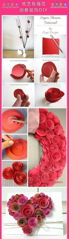 Liven up the place with this easy spiral paper flower tutorial liven up the place with this easy spiral paper flower tutorial pretty without the pollen and they wont die via dozi design crafts pinterest mightylinksfo