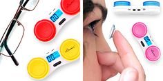 Countdown Contact Lens Case. Keep track of how many days you've worn your contacts!