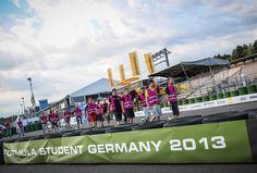Formula Student Germany 2013. #formulastudent #FSG #triumphantracers Courtesy: FSG Media