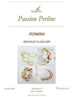 Schéma collier et bracelet ROMINA par PASSIONPERLINE sur Etsy