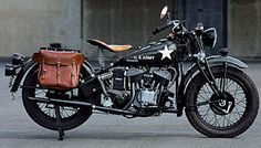 1935-1945 Indian Model 741   History