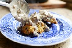 Drop Biscuits and Sausage Gravy by Ree Drummond / The Pioneer Woman, via Flickr
