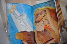 Lion King Wreck This Journal