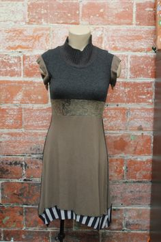 Reconstructed Dress -spring up-s/m