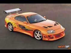 Toyota supra rapidos y furiosos 1