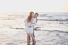 Beach Side // Sea // Med Sea // Elopement Photos // Wedding Portraits // Unique // Boho Chic // Lace White Dress // Free People Wedding Dress // Guitar // Musical Portrait Session // Beach Couples Photos // Bridal Portrait // Autumn Bouquet // Fall Bouquet // Fun Couples Photos / Wedding Photography // Intimate Ceremony // Lauren Newman // Wedding Photographer // Israel, Tel Aviv // Destination