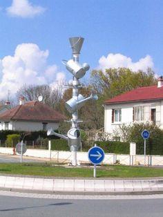 Rond-point à Fleury les Aubrais (45)