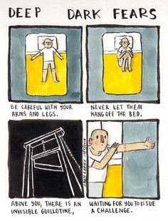 Cartoonist Sheds Light On Your Darkest, Most Irrational Fears