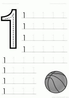 1 sayısı rakamı çalışma sayfası ve 1 rakamı yazma çalışmaları etkinlikleri oyunları, kağıdı indirme çıktı alıp yazdırma. Free numbers worksheets download and printable preschool kids.