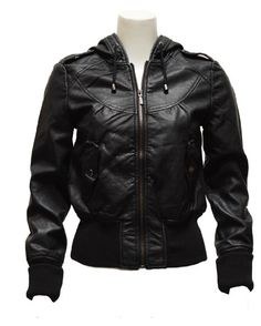 Parkers leather jacket (knock off) $50