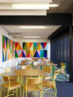 AHMM is also said to have worked closely with an artist to use produce large, colourful murals
