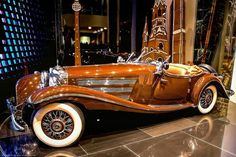 Playing small does not help you or mankind. Make your mark! Mercedes Benz 500K. EXQUISITE! www.kerlagons.com