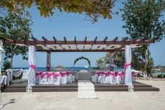 Ceremony area at Capo Bay Hotel