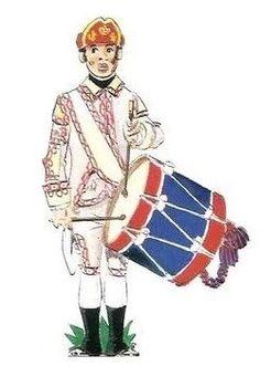 Regimiento de Infantería de Milicias Pardos de Mérida de Yucatán 1767 Tambor