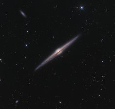 Magnificent spiral galaxy NGC 4565 is viewed edge-on from planet Earth. Also known as the Needle Galaxy for its narrow profile, bright NGC 4565 is a stop on many telescopic tours of the northern sky, in the faint but well-groomed constellation Coma Berenices