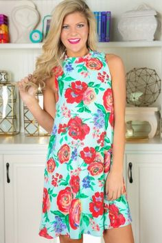 EVERLY: All The Love Dress-Mint