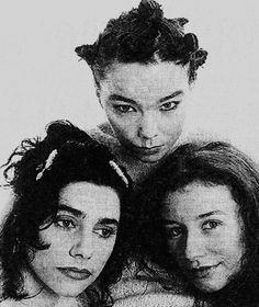 pj harvey, bjork & tori amos. Three of favorite women all together.