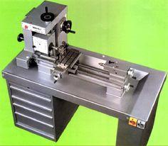 Mini Cnc Lathe, Diy Lathe, Diy Cnc, Lathe Tools, Metal Tools, Combination Woodworking Machine, Cnc Lathe Machine, Desktop Cnc, Fabrication Tools