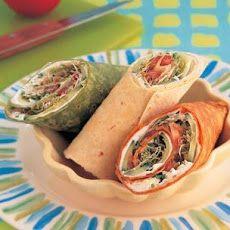 Veggie Wraps Recipe #AmericasFarmers