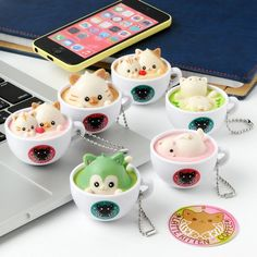Latte Kitten Coffee Straps: New Flavor Strawberry & Matcha Series
