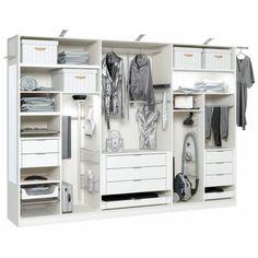 Vaatekomeron sisällön voit tiedenkin itse valita. - vallaste.fi Wardrobes, Closet, Garage, Design, Home Decor, Google, Kitchen Wood, Reach In Closet, Products