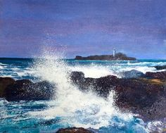 Artist website displaying acrylic and mixed media paintings for sale. Sailboat Painting, Mixed Media Canvas, Paintings For Sale, Cornwall, Waves, Artist, Outdoor, Outdoors, Artists