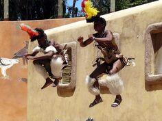 Zulu Dancers at Gold Reef City