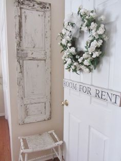 "I need a ""Room for Rent"" sign above the door to my new guest room!"