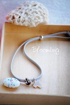 Μαρτυρικα βαπτισης βραχιολια - Blooming Headphones, Headpieces, Ear Phones