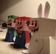 無料ペーパークラフト&展開図設計・制作依頼も有料で承ります - Paperman Returns