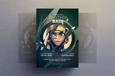 Party Flyer by Shemul on Envato Elements Magazine Template, Party Flyer, Magazine Design, Flyer Template, Flyer Design, Retro Vintage, Club Poster, Templates, Invitation