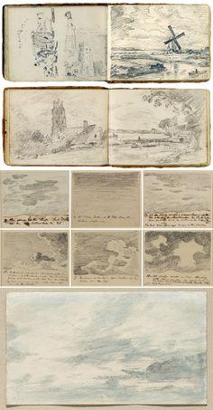 Gli appunti degli artisti - DidatticarteBlog - John Constable (1776-1837)