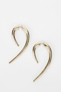 Tiger Claw Front/Back Earring