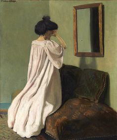 "Félix Vallotton (Suisse, 1865-1925) ""To me, the worst fashion faux pas is to look in the mirror, and not see yourself."" -Iris Apfel"