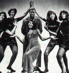 Ike and Tina Turner. S)