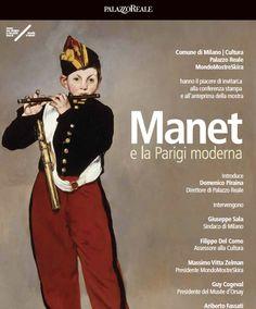 """Mostra """"Manet e la Parigi moderna"""" dal'8 marzo al 2 luglio 2017. Milano, Palazzo Reale."""