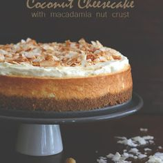 Coconut Cheesecake w