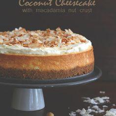 Coconut Cheesecake w
