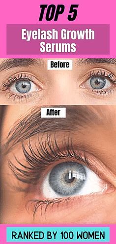 Eyelash growth serums ranked. 100 women tested over 30 eyelash serums and share their results with you. Find out which lash growth serums work the best! Get Long Eyelashes, How To Grow Eyelashes, Natural Eyelashes, Skin Secrets, Skin Tips, Beauty Secrets, Diy Beauty, Beauty Makeup, Best Eyelash Growth Serum