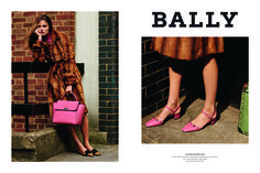 Bally's Fall 2015 ad campaign