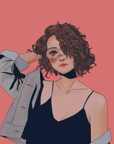 bocetos new style black haircuts - Black Haircut Styles Girls Cartoon Art, Character Art, Girly Art, Cute Art, Cartoon Art Styles, Digital Art Girl, Cute Art Styles, Pop Art, Aesthetic Art