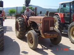 Barreiros R-545 New Tractor, Old And New, Tractors, Vehicles, Tractor, Vehicle